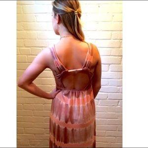 Gypsy05 Blush/Pink Tie-dye Maxi